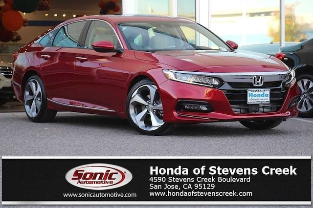 New 2018 Honda Accord Touring Sedan in San Jose