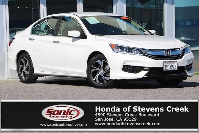 Used 2016 Honda Accord LX Sedan in San Jose