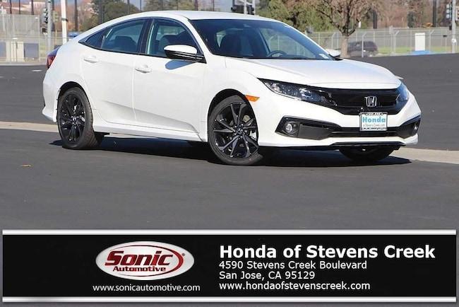 Honda San Jose >> New 2019 Honda Civic Sport For Sale In San Jose Ca Stock Ke004455