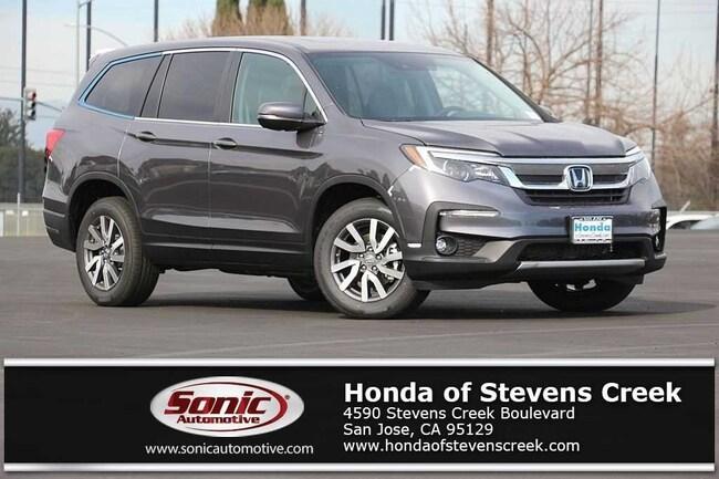New 2019 Honda Pilot EX-L AWD SUV in San Jose