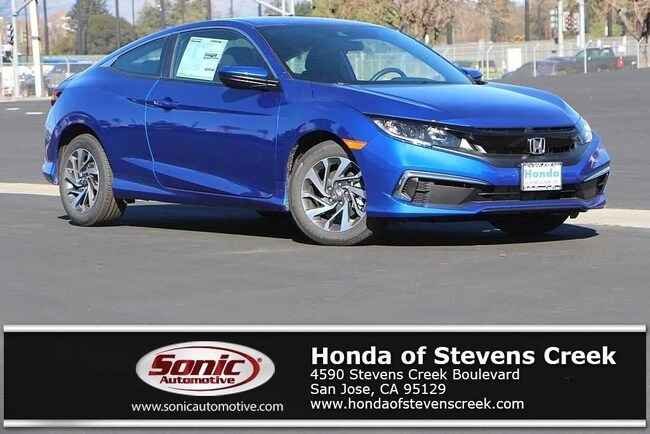 New 2019 Honda Civic LX Coupe in San Jose