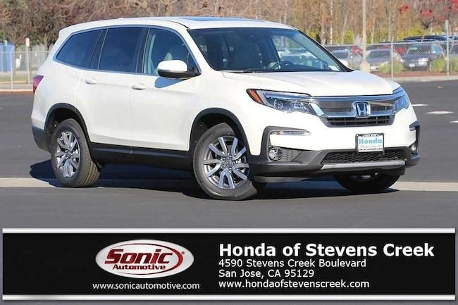 New 2019 Honda Pilot EX-L w/Navi & RES AWD SUV in San Jose
