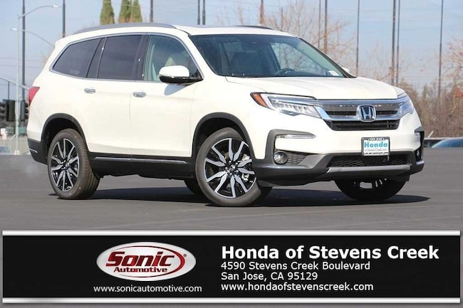New 2019 Honda Pilot Touring 8-Passenger AWD SUV in San Jose