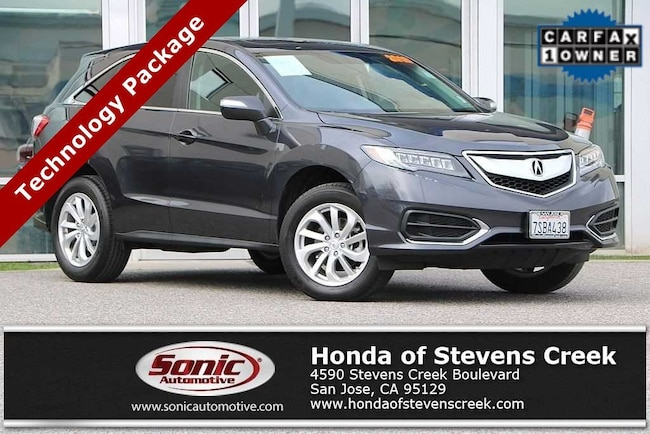 Used 2016 Acura RDX RDX with Technology Package SUV in San Jose