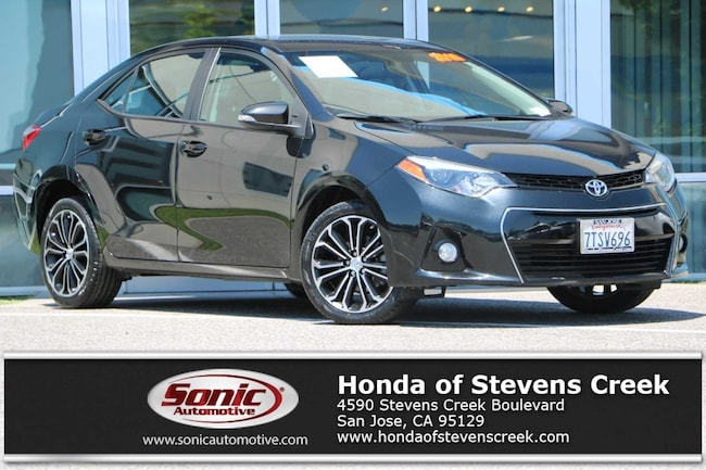 Toyota Stevens Creek >> Used 2016 Toyota Corolla L For Sale In San Jose Ca Stock Bgp529835