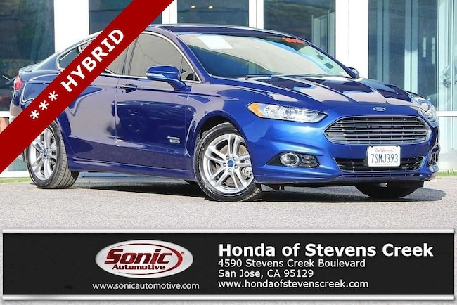 Used 2016 Ford Fusion Energi Titanium Sedan in San Jose