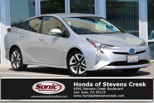 Toyota Stevens Creek >> Used 2016 Toyota Prius Three Touring For Sale In San Jose Ca Stock