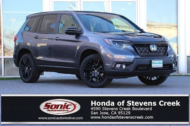 New 2019 Honda Passport Sport AWD SUV in San Jose