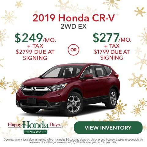 2019 Honda CR-V 2WD EX