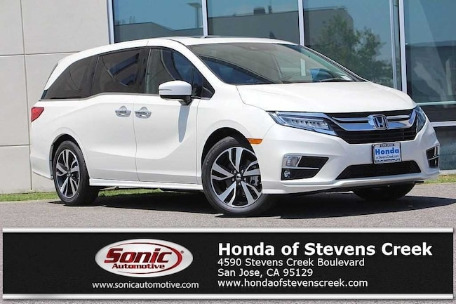New 2019 Honda Odyssey Elite Van in San Jose