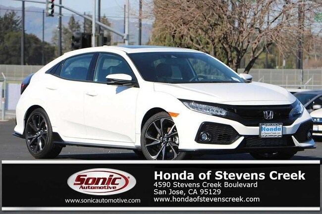 New 2019 Honda Civic Sport Touring Hatchback in San Jose