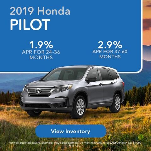 2019 Honda Pilot - APR
