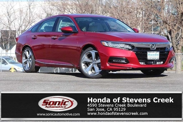 New 2018 Honda Accord Touring 2.0T Sedan in San Jose