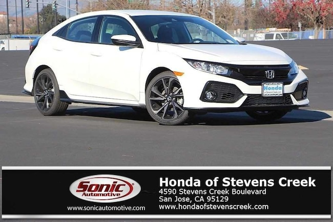 New 2019 Honda Civic Sport Hatchback in San Jose