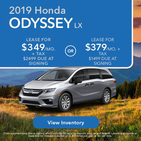 2019 Honda Odyssey LX - Lease