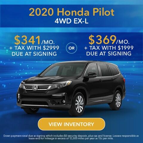 2020 Honda Pilot 4WD EX-L