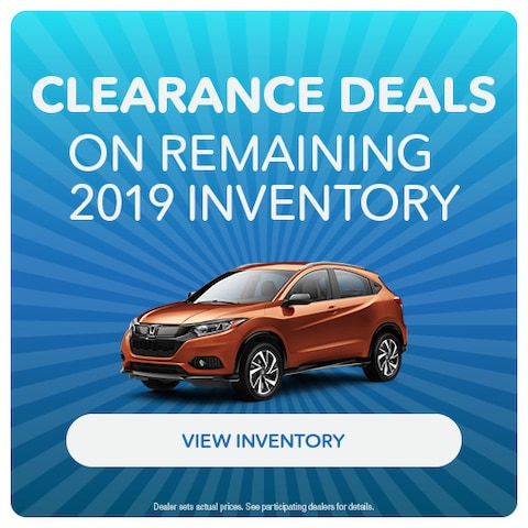 Clearance Deals on Remaining 2019 Inventory