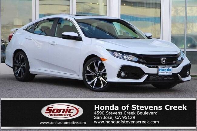 New 2019 Honda Civic Si Sedan in San Jose