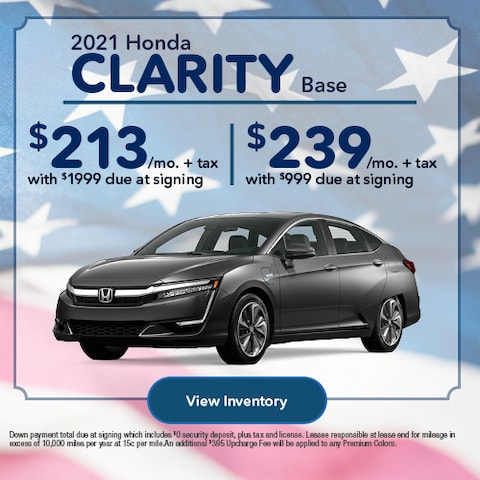 2021 Honda Clarity Base
