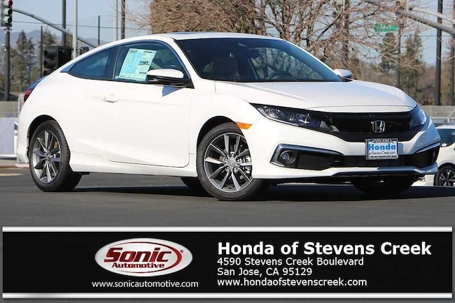New 2019 Honda Civic EX Coupe in San Jose