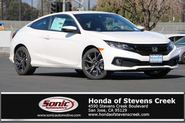 New 2019 Honda Civic Sport Coupe in San Jose