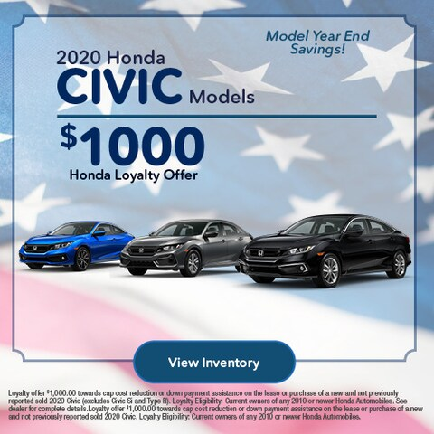 2020 Honda Civic - Loyalty