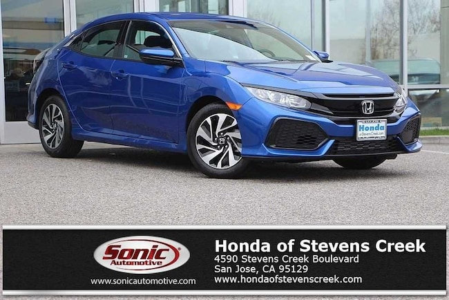 New 2019 Honda Civic LX Hatchback in San Jose