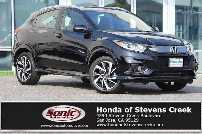New 2019 Honda HR-V Sport AWD SUV in San Jose