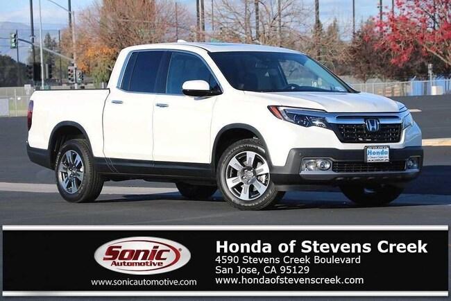 New 2019 Honda Ridgeline RTL-E AWD Truck Crew Cab in San Jose