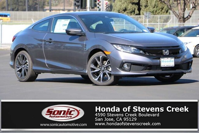 New 2019 Honda Civic Sport Coupe in San Jose