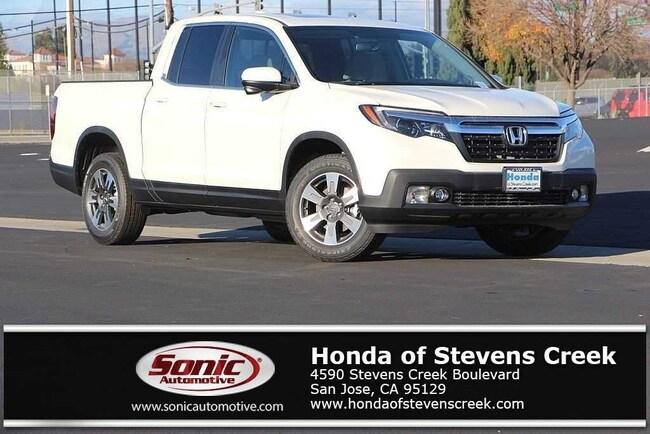 New 2019 Honda Ridgeline RTL-T AWD Truck Crew Cab in San Jose