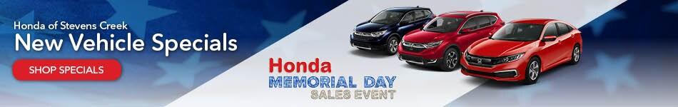 New Vehicle Specials-May