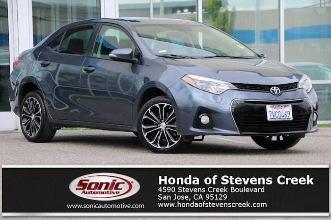 San Jose Toyota >> Used 2016 Toyota Corolla S Plus For Sale In San Jose Ca Stock