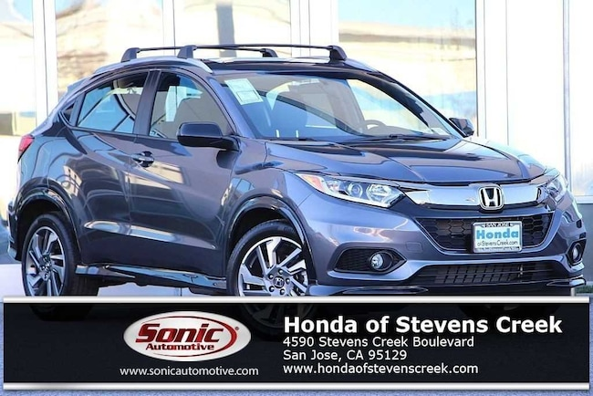New 2019 Honda HR-V Sport AWD SUV in San Jose