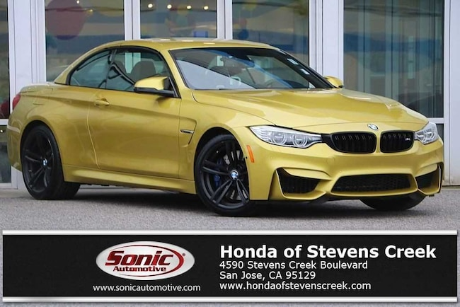 Used 2016 BMW M4 Convertible in San Jose