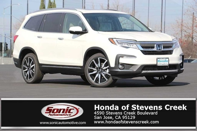 New 2019 Honda Pilot Touring 8-Passenger FWD SUV in San Jose