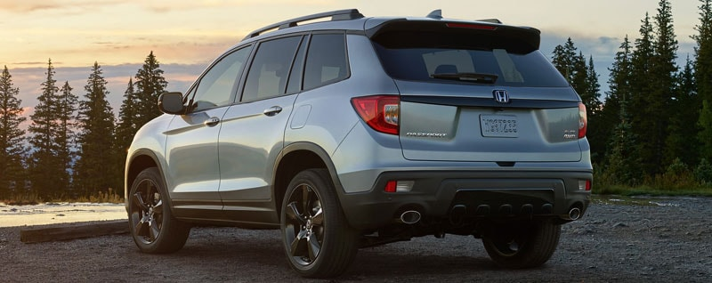 2019 Honda Passport Rear Exterior