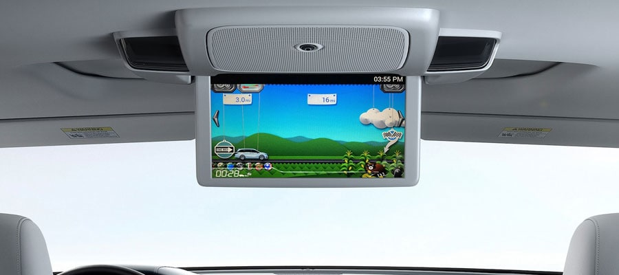Advanced Minivan Rear Entertainment System