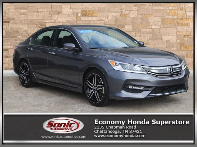 Certified Pre-Owned 2016 Honda Accord Sport 4dr I4 CVT Sedan for sale in Chattanooga, TN