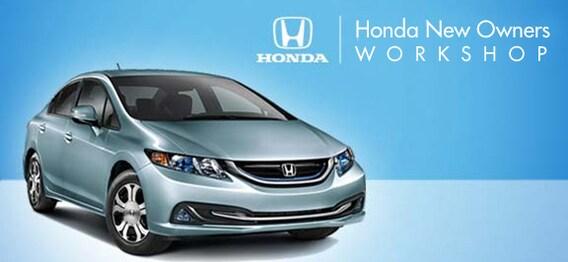 Owners Honda Com >> New Owner Workshop Economy Honda Superstore