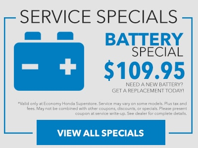 Economy Battery Special