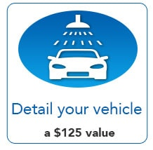 Detail your Vehicle - a $125 Value!