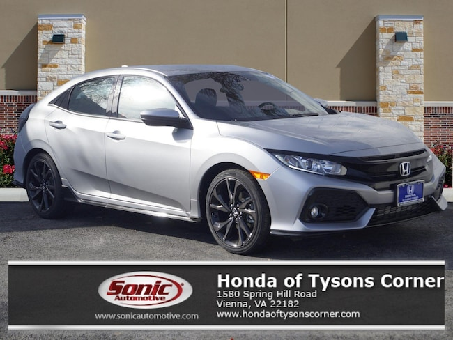 New 2019 Honda Civic Sport Hatchback in Vienna, VA