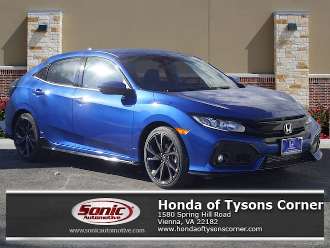 New 2019 Honda Civic Sport Hatchback in Vienna, VA