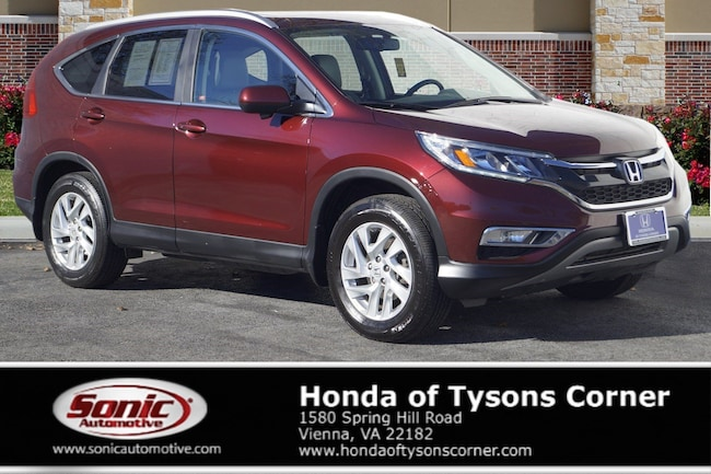 Used 2016 Honda CR-V EX-L SUV in Vienna, VA