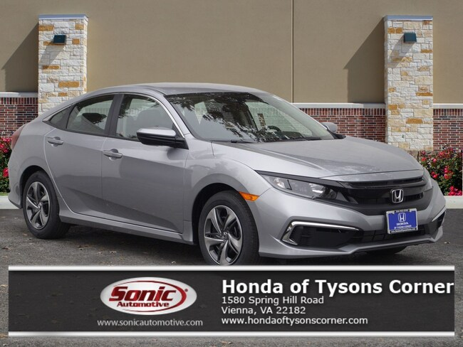 New 2019 Honda Civic LX Sedan in Vienna, VA