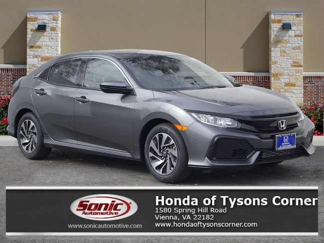 New 2019 Honda Civic LX Hatchback in Vienna, VA