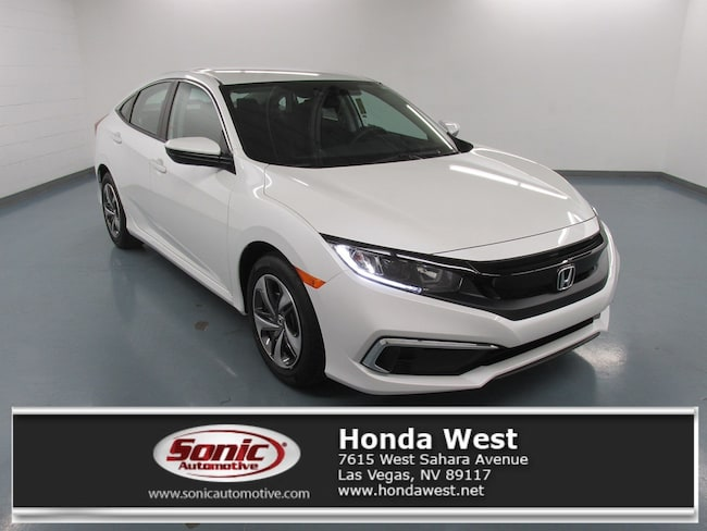 New 2019 Honda Civic LX Sedan for sale in Las Vegas