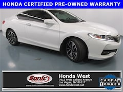 Used 2016 Honda Accord EX-L 2dr I4 CVT Coupe for sale in Las Vegas
