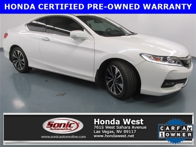 Certified Pre-Owned 2016 Honda Accord EX-L 2dr I4 CVT Coupe for sale in Las Vegas